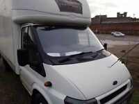 Ford Transit with tail lift