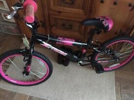 Girls x-Treme bike 25 inches