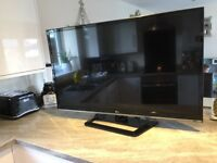 LG 47inch HD tv built in freview immaculate condition