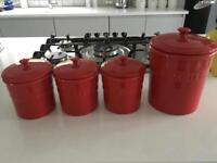 Linea storage jars