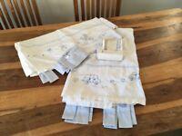 Nursery curtains and wallpaper borders from jasper Conrad at debenhams