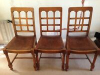 3 matching chairs for free