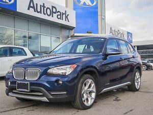 2013 BMW X1 28i/BLUETOOTH/LEATHER/PANORAMIC SUNROOF/CRUISE/ALL