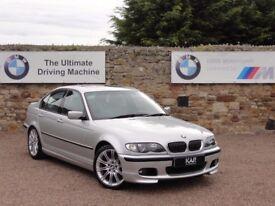 BMW E46 325i M Sport Saloon, Manual, 04 Reg, 50k Miles, 2 Owners, FSH, MOT: 1 Year