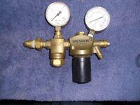 messer oxygen mixer valve / gauge