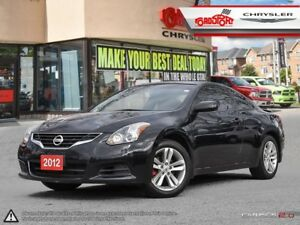 2012 Nissan Altima 2.5 S SUNROOF, HEATED SEATS ALLOY'S SPOILER