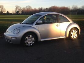 VW BEETLE with Full Service History & MOT. Great spec including Heated Black Leather Seats & Alloys