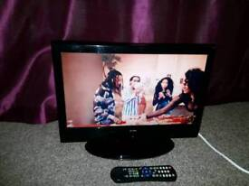 "19"" ALBA LCD TV Built-in Digital Freeview"