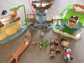 Jake and the never land pirates job lot