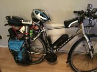 canondale cx hybrid electric bike for swaps road bike or mountain bike