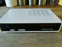 Zgemma H2s Twin Tuner Enigma Linux Smart Box with 500gb HDD