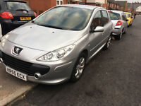 PEUGEOT 307 S - 1.6 HDI -(2005) DIESEL - 11 MONTHS MOT - IMMACULATE