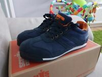 Uk 7 / Scruffs HALO / BLUE Sbp Sra Rated Safety Trainers