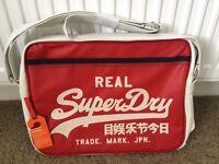 BRAND NEW Superdry UNISEX Messenger Bag