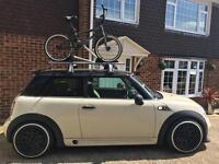Two Mini Bike racks