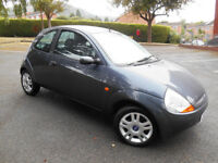 Ford Ka Luxury Sea Grey Metallic, leather interior 67524 miles