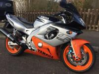 YAMAHA YZF 600. Only 18k miles! 12 months MOT