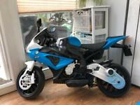 Unisex electric kids motorbike 12v BMW (and car separate)