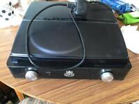 Gpo record player all in one with speakers