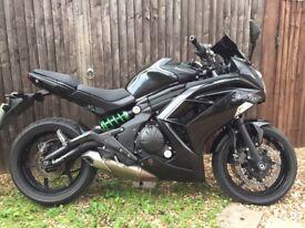 2016 Kawasaki EX650 Ninja (ER6F) 650 ABS in metallic black- low mileage