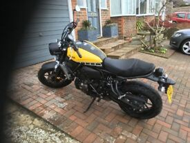 Yamaha XSR 700. 2016. One careful owner. Mint condition,garaged,still under warranty.