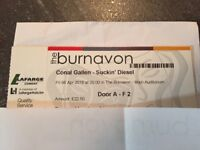 Two Conal Gallen tickets for sale*** Friday 6th April in Burnavon