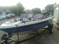 SABA 17FT SPEED BOAT WITH 135 MERCURY BLACK MAX FULL OUTFIT