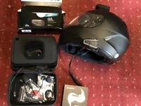 Bluetooth headset and camera