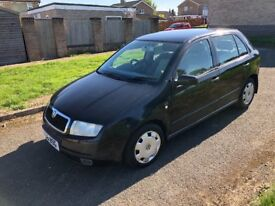 Scoda fabia 1.4 autmatic low miles 60000 mot low insurance £575