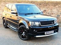 *2006 RANGE ROVER SPORT 2.7 HSE DIESEL** - FULL 2013 AUTOBIOGRAPHY BODY KIT!! - 1 YEAR MOT!!!