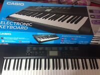 Casio Large Keyboard - only 4 weeks old