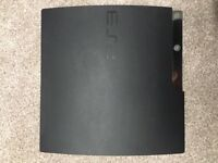Ps3+2 sony dual shock controller+9 top games+all cables