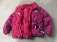 Girls The North Face Puffer Jacket Size XS