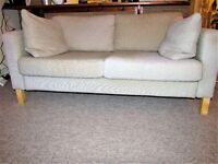 Beige 2 Seater Sofa
