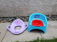 Thomas tank engine pottie and & toilet seat