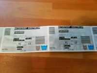 Paramore (2 x Seated tickets H Block Seats 12 & 13) - WATERFRONT Hall - Friday 16th June