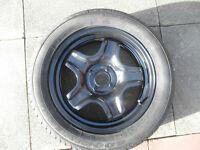 Dacia Stepway 5 spoke steel wheel with new tyre