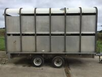ivor Williams cattle trailer,