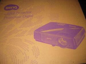 BenQ 3,200 ANSI Lumen Color 3D DLP Projector. Full HD. Smart Eco. VGA. Remote Control. Built-in Speakers. MS504A.