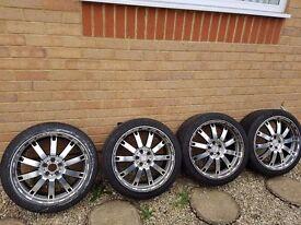 TT Alloy Wheels