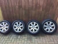 16in Volkswagen Alloys 205 55 16 All good tyres