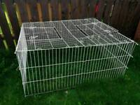 Outdoor cage for small pets