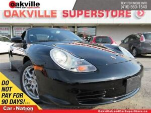 2004 Porsche Boxster LEATHER | 5 SPEED M/T | HEATED SEATS