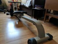 Rowing machine.