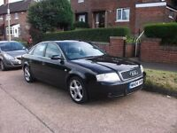 Audi A6 1.8t 2004 5dr Manual # 86000 Miles # Fsh -Leathers cruise control Bose ICE