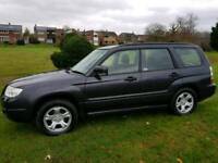 2007 SUBARU FORESTER 2.0 X ESTATE AWD 4 x 4 FULL SUBARU HISTORY 1 YEARS MOT