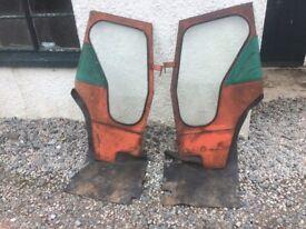 Massey Ferguson tractor cab doors.