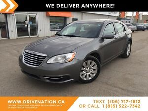2012 Chrysler 200 LX SMOOTH RIDE! GREAT ON FUEL!