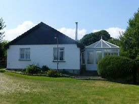 A detached holiday cottage accommodating six guests in a peaceful position near the Eden Project.