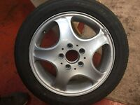 Spare wheel full size Mercedes Benz with Continental Tyre